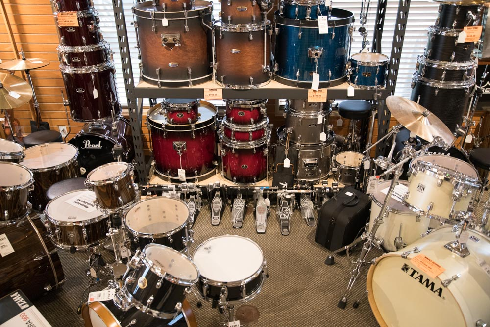 Tama and Pearl Drum Sets, Hardware, Thrones, Stands, Pedals