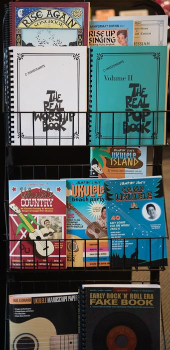 Vocal Sheet Music and Books