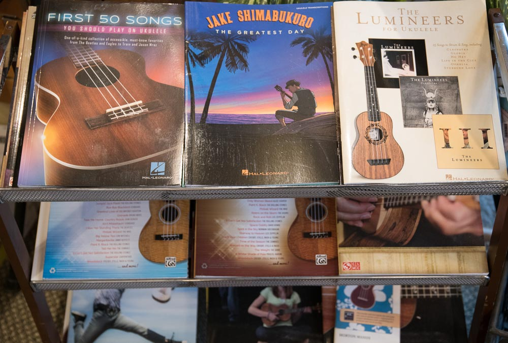 Ukulele Sheet Music and Books