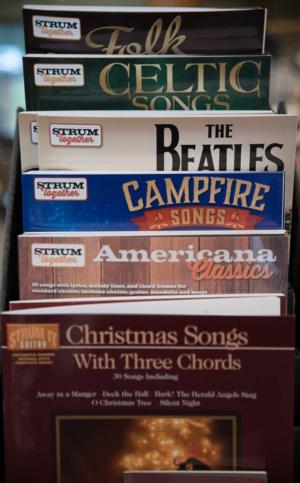Acoustic and Electric Guitar Sheet Music and Books