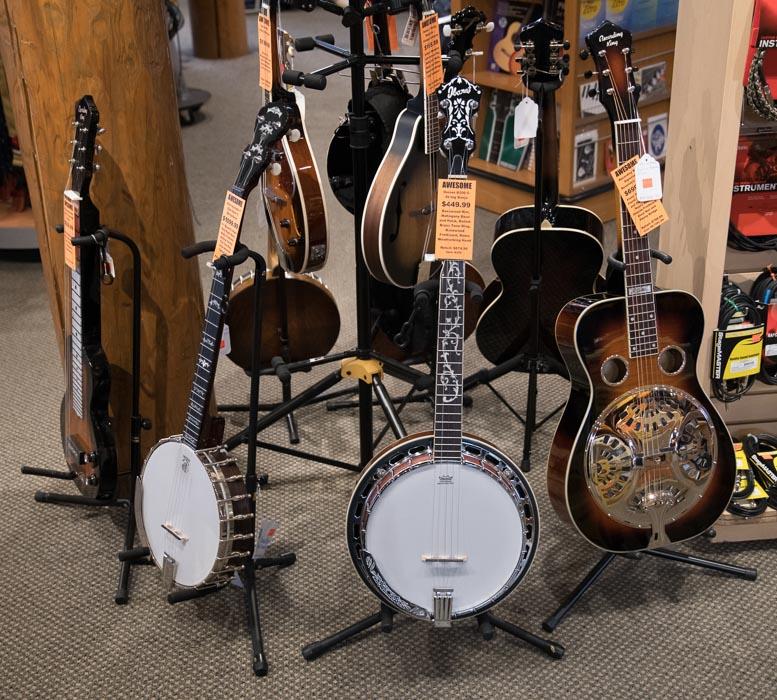 Banjos, Mandolins, Resonator Guitars, Lap Steel Guitars and Accessories