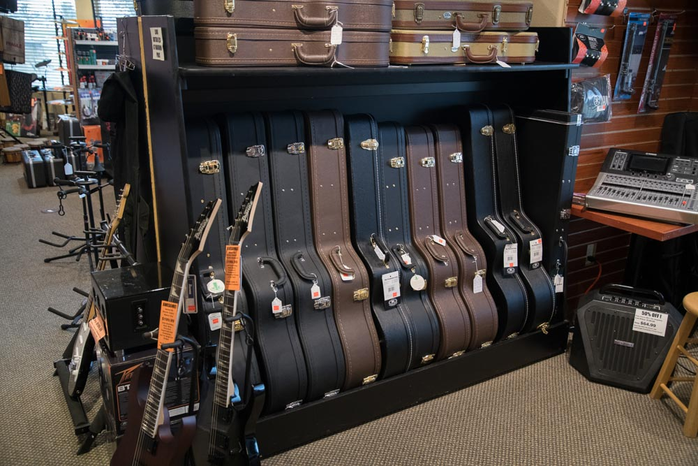 Dreadnought, Classical, Electric, Bass, Banjo, Mandolin and Ukulele Hardshell Cases