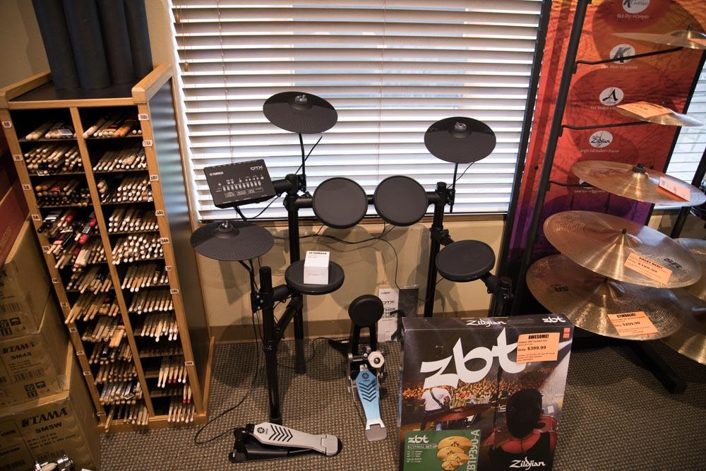 Yamaha DTX Digital Drum Sets, Drumsticks