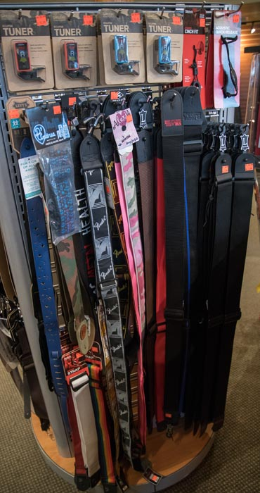 Nylon, Logo, Fender, D'Addario, Levy's Guitar and Bass Straps
