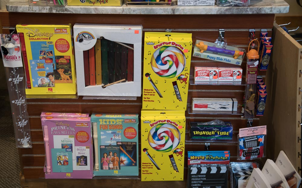 Children's Recorders, Hand Drums, Jaw Harps, Slide Whistles, Kazoos, Spoons
